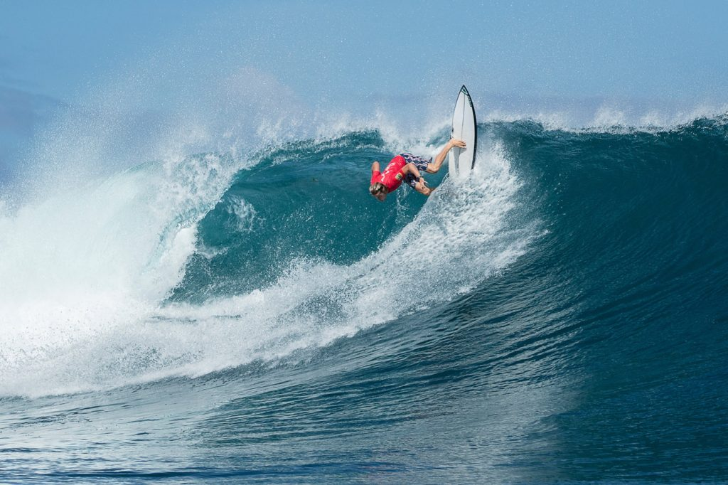 Big Swell and Bigger Performances at Krui Pro