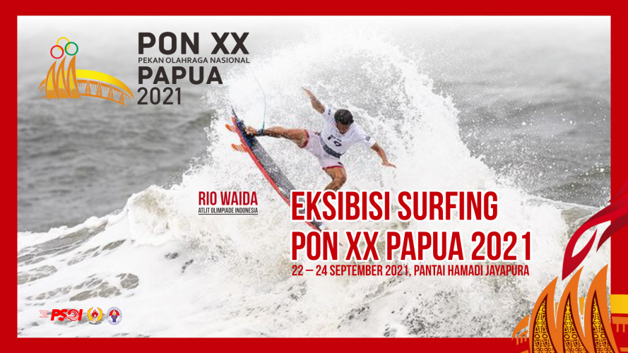 ekibisi surfing PON XX Papua